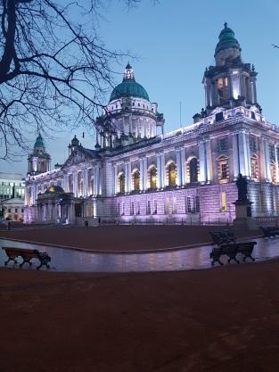 City Hall Belfast by night ©biboucheetbibouchon