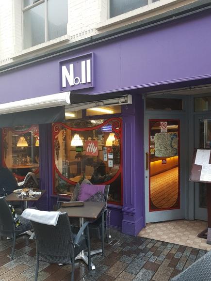 Restaurant N°11 à Belfast -©biboucheetbibouchon