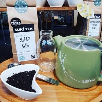 Suki Tea au St George's Market Belfast - ©biboucheetbibouchon