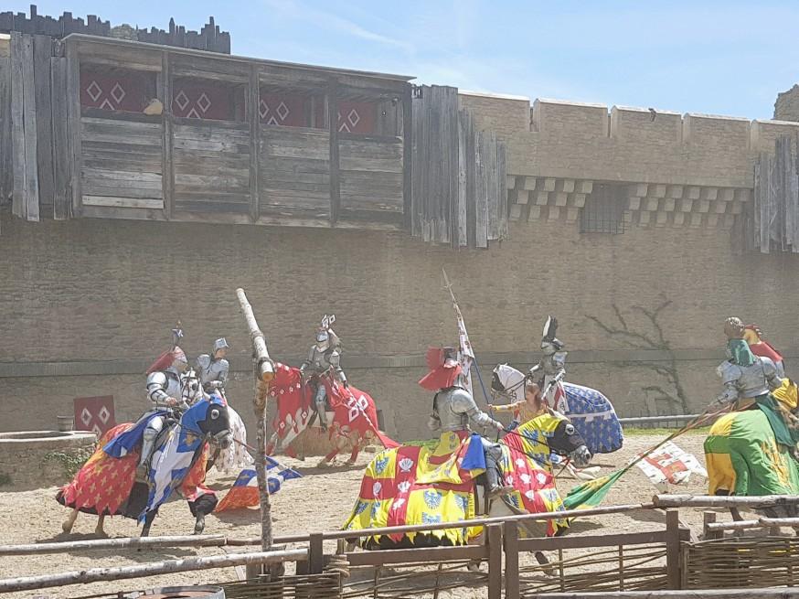 Spectacle Le secret de la lance du Puy du fou©biboucheetbibouchon