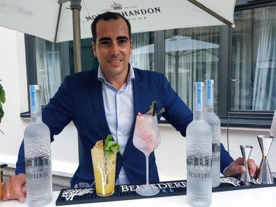 Daniel Rodriguez, Bartender, ambassadeur des Vodkas Belvédère ©biboucheetbibouchon