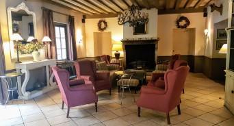 Salon du restaurant Château de Courban ©biboucheetbibouchon