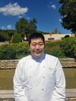 Chef Takashi Kinoshita, Chateau de Courban ©biboucheetbibouchon