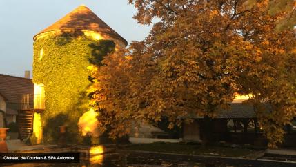 Château de Courban à l'automne