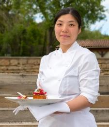 Sae Hasegawa Cheffe pâtissiere Chateau de Courban