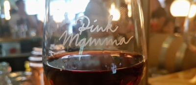 Pink Mamma verre de vin ©biboucheetbibouchon