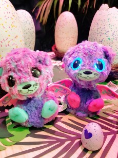 Les jumeaux Hatchimals ©biboucheetbibouchon