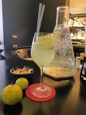 cocktail concombre, gingembre, yuzu et vodka ©biboucheetbibouchon