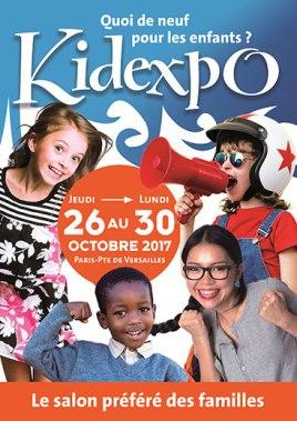 affiche kidexpo 2017