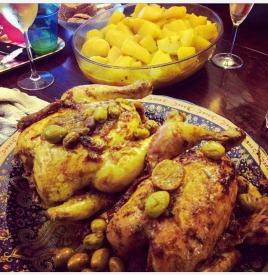 Tajine poulet aux olives et citron confit ©biboucheetbibouchon