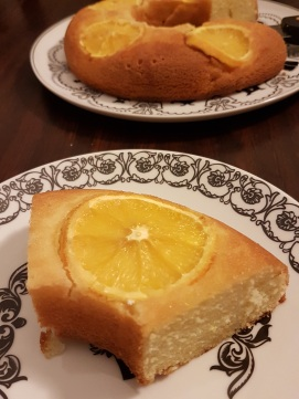 Part de gâteau à l'orange ©biboucheetbibouchon
