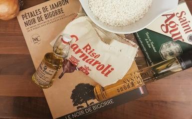 Ingrédients Risotto au Saint-Agur ©biboucheetbibouchon