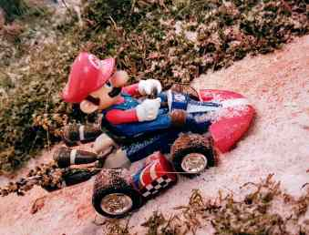 Mario Bros à l'occasion de la Fabuleuse histoire des jeux d'occasion leboncoin ©biboucheetbibouchon