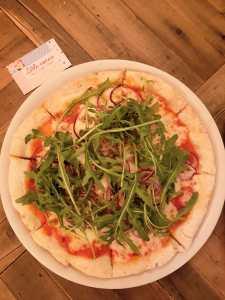 Pizza du Little Nonna Paris, restaurant sans gluten ©biboucheetbibouchon