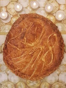 Galette des rois aux amandes et noix de Pécan ©biboucheetbibouchon