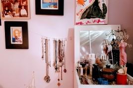 Vue d'ensemble Porte bijoux suspendu fait maison ©biboucheetbibouchon.com